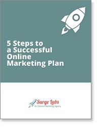 5 step online marketing plan