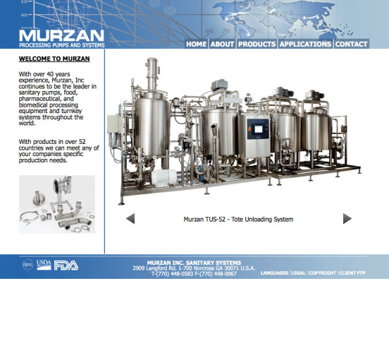 Murzan Old Home Page Design