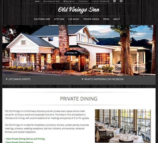 Old Vinings Inn Redesign