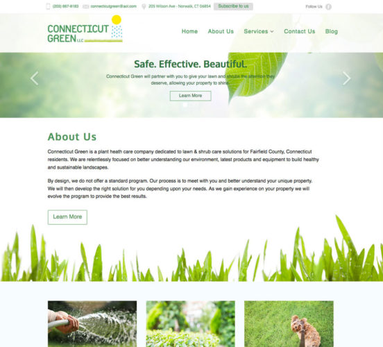 Connecticut Green Old Home Page